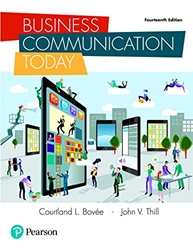 Business Communication Today 14/E
