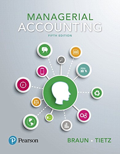 Managerial Accounting Plus Mylab Accounting with Pearson Etext