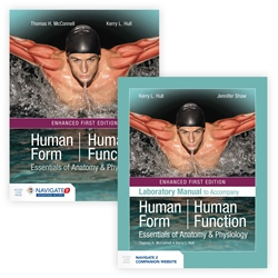 Bundle of Human Form, Human Function: Essentials of Anatomy & Physiology + Lab Manual